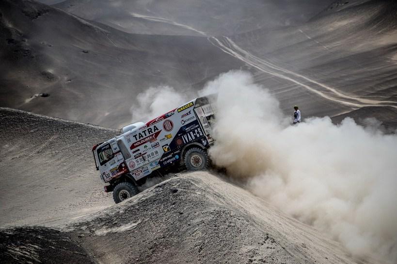 Češi v Dakaru po 2. etapě