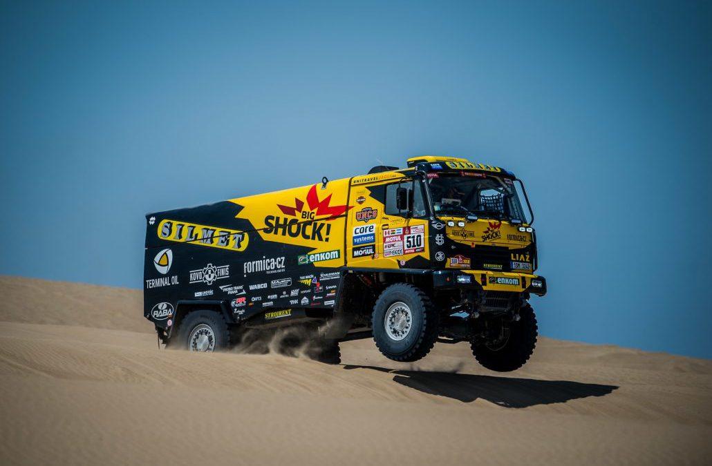Loprais na Dakaru končí