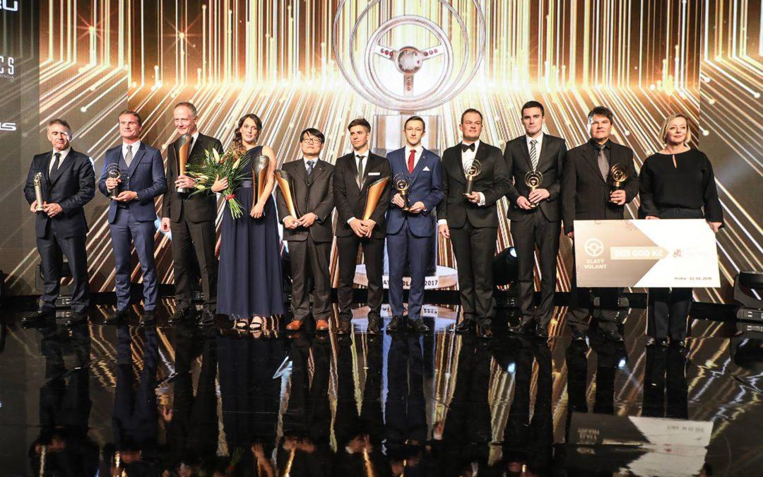 Vítězové 41. ročníku ankety Zlatý volant