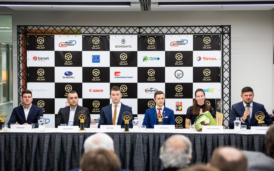 V anketě Zlatý volant za rok 2020 budou oceněny čtyři osobnosti české a mezinárodní scény
